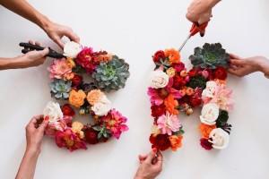 hacer-letras-flores
