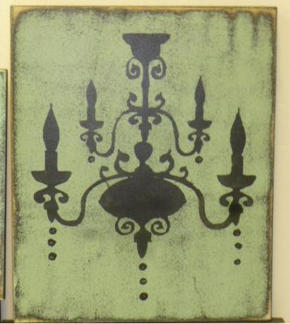 cuadros-vintage-candelabros lamparas 2