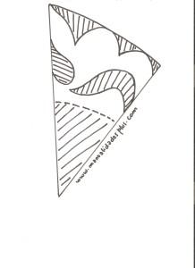 diagrama marcos papel scrapbooking blondas