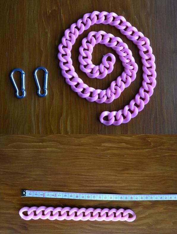 diy-collares-regalar-navidad 12-collar-cadenas