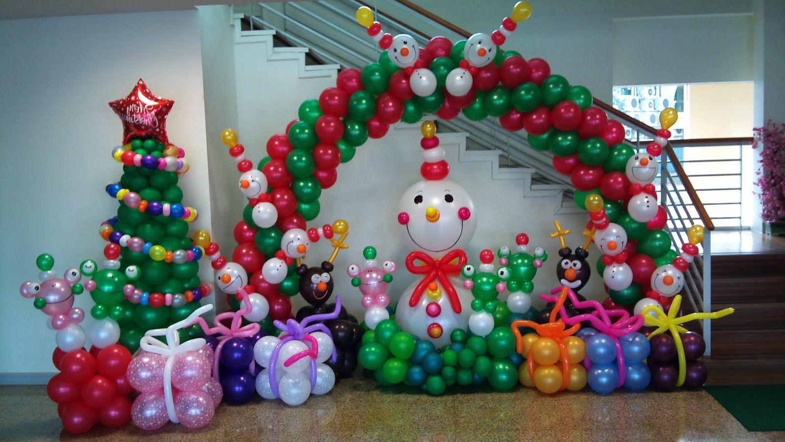 navidad manualidades globos 1 decoracion