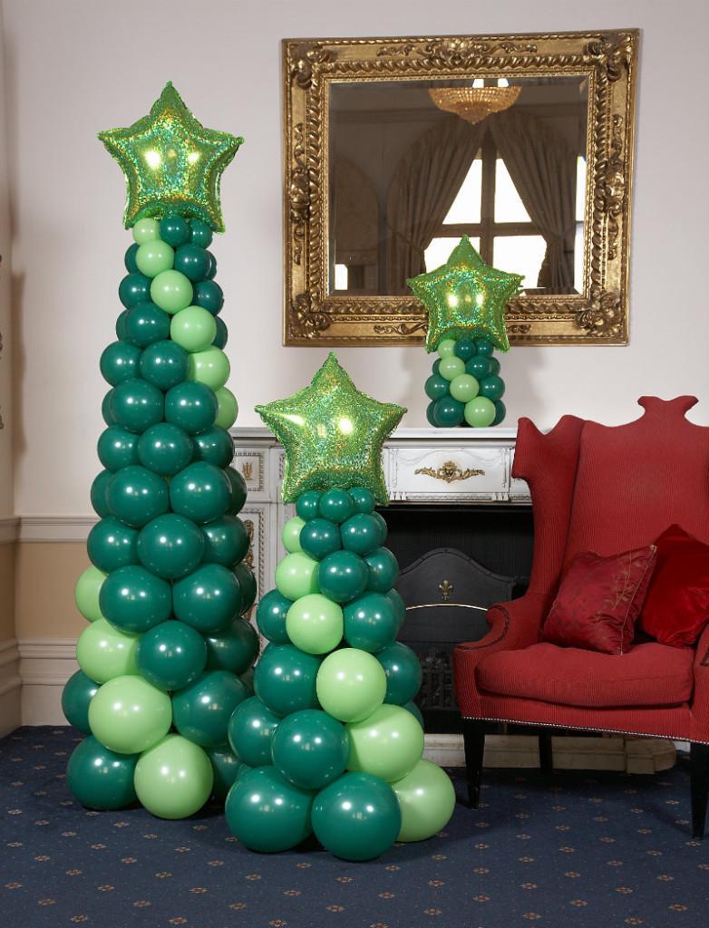 navidad manualidades globos 3 decoracion