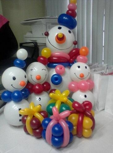 navidad manualidades globos 4 decoracion