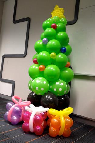 navidad manualidades globos