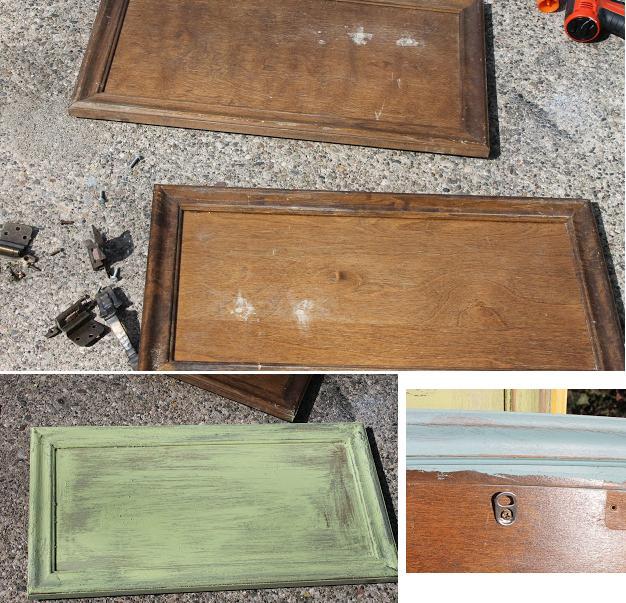 cuadro vintage  reciclaje bandeja manualidades hogar cocina 1