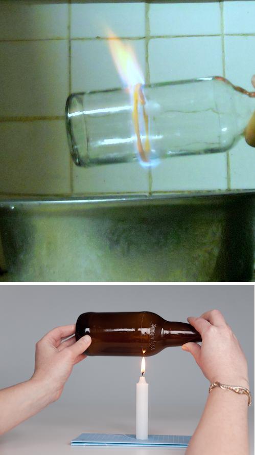 cortar botellas