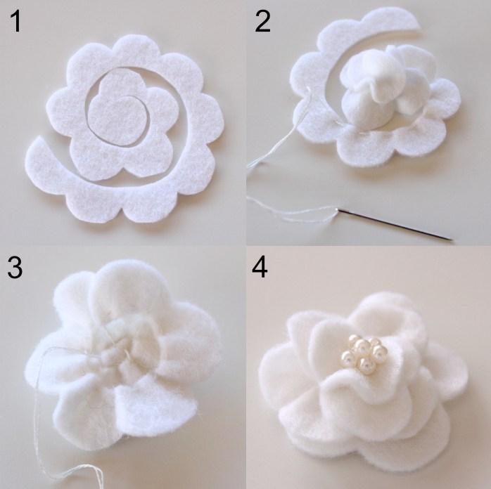 flores fieltro cardado panio lenci 7