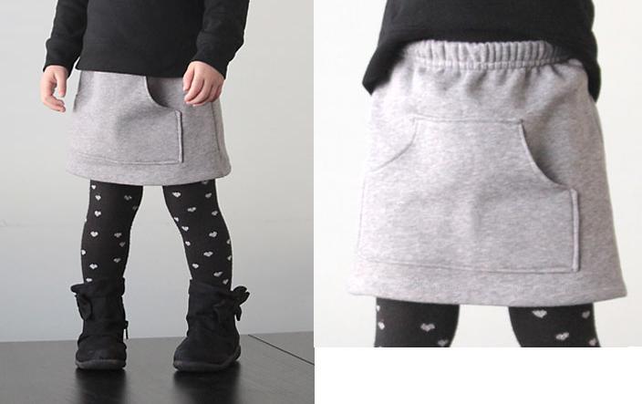 coser falda con un pantalon 4