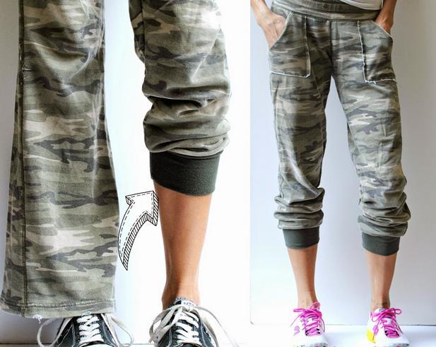 transformar pantalon