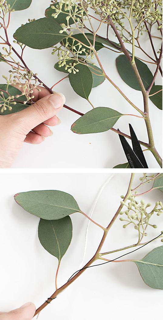 guirnalda con hojas 1 http www manualidadesplus com