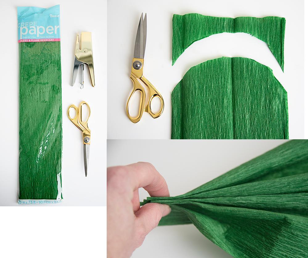 trebol papel crepe 1 http www manualidadesplus com