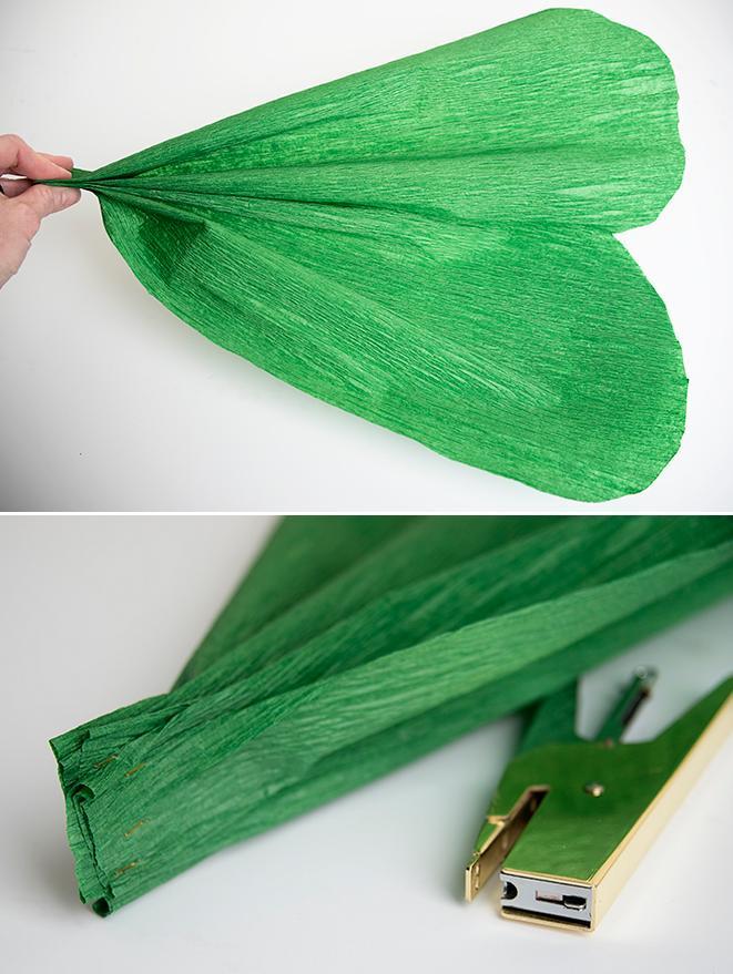 trebol papel crepe 2 http www manualidadesplus com