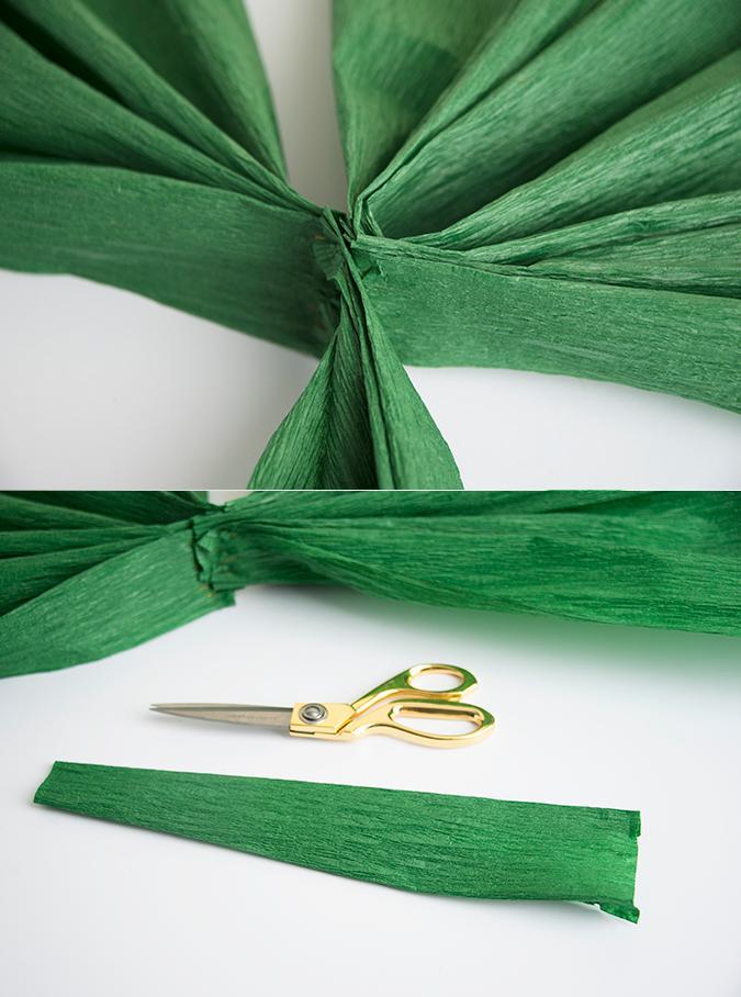 trebol papel crepe 3 http www manualidadesplus com