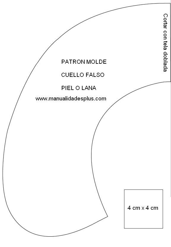patron-molde-cuello-lana-piel-http-www-manualidadesplus-com