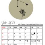 calendario astrologico