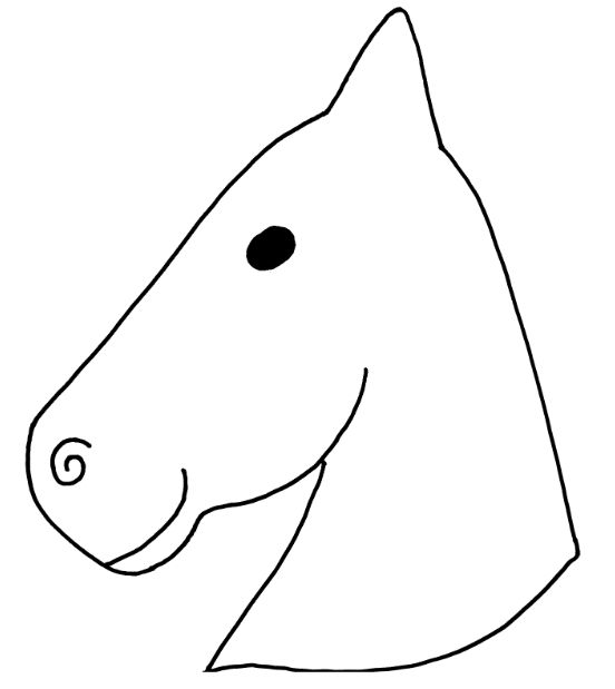 caballo carton