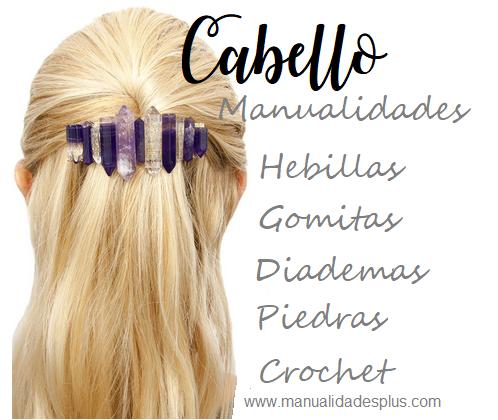 manualidades para cabello pelo