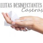 toallas papel desinfectantes caseras