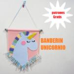 banderin unicornio