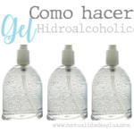 gel hidroalcoholico casero