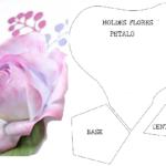 moldes flores gratis