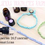 pulseras brazaletes aromaticos.