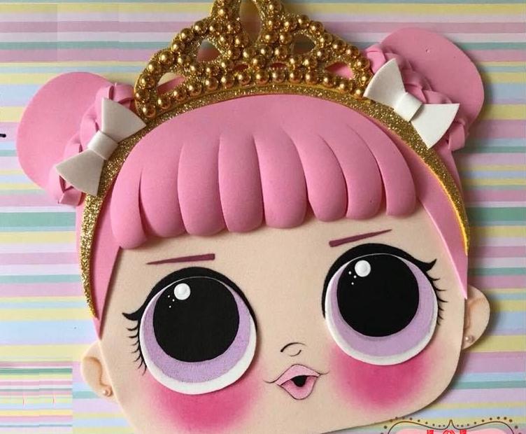 Muñecas Lol Sorpresa Patrones Gratis Para Goma Eva Manualidades